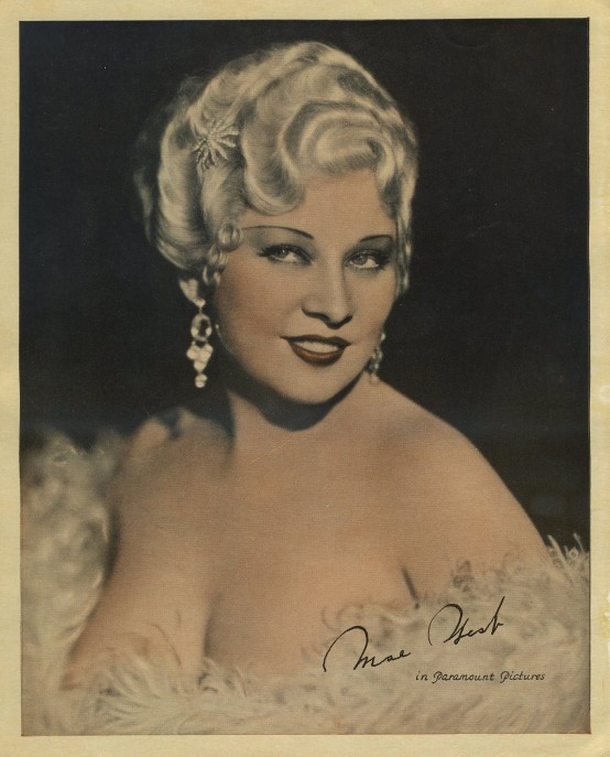 Mae West 1930s Premium Photo