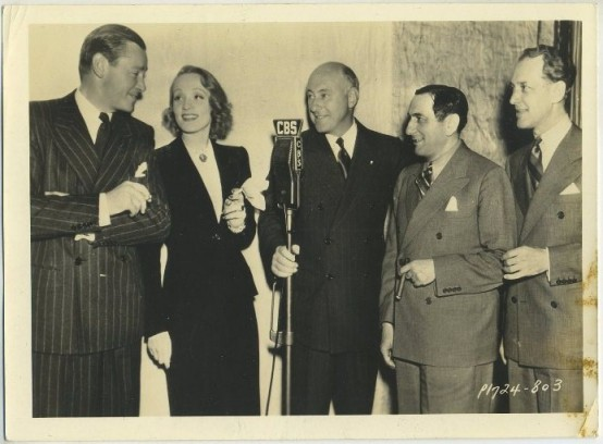 Marlene Dietrich and company Angel 1937