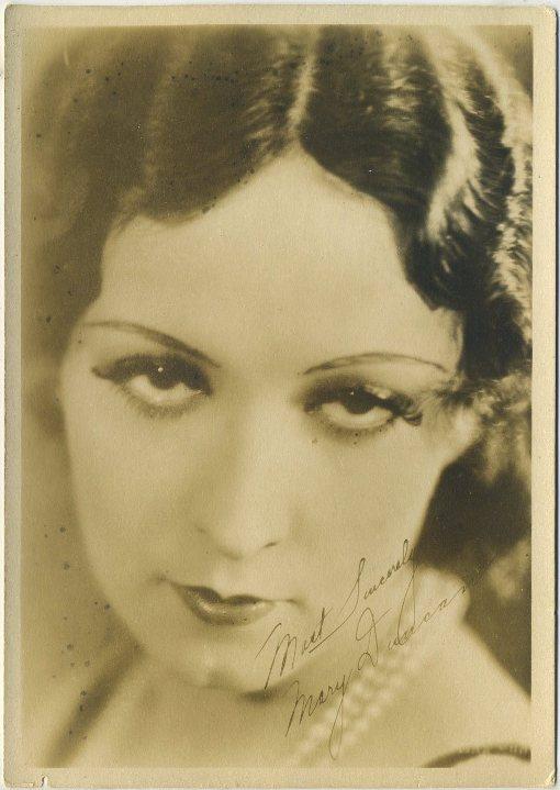 Mary Duncan 1930s Fan Photo