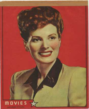 Maureen O'Hara Writing Tablet