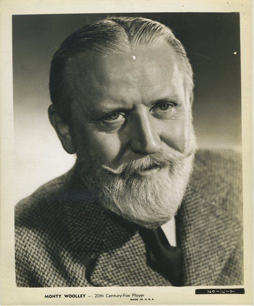 Monty Wooley 1940s Twentieth Century-Fox Photo