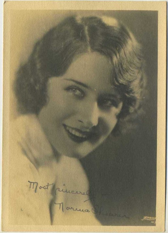 Norma Shearer Fan Photo