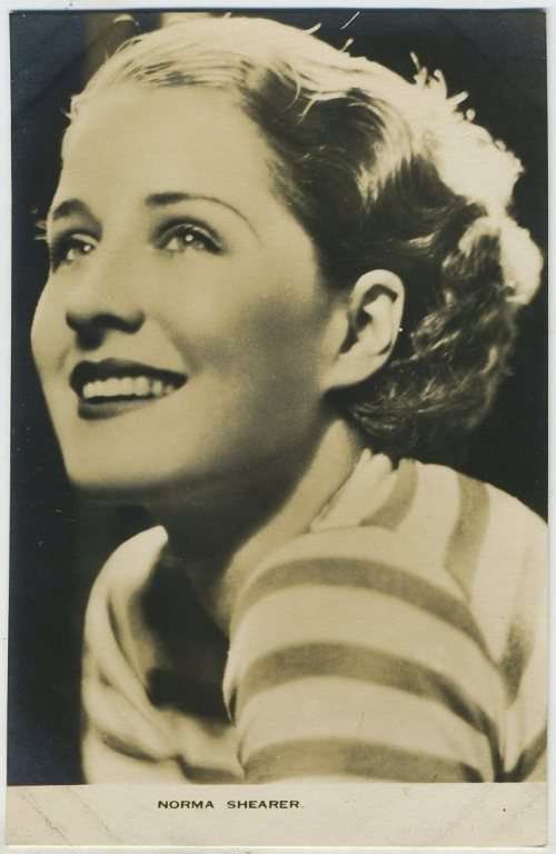 Norma Shearer Film Weekly Postcard