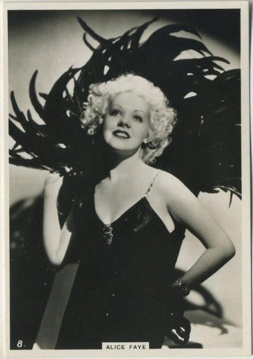 Alice Faye 1930s BAT Modern Beauties