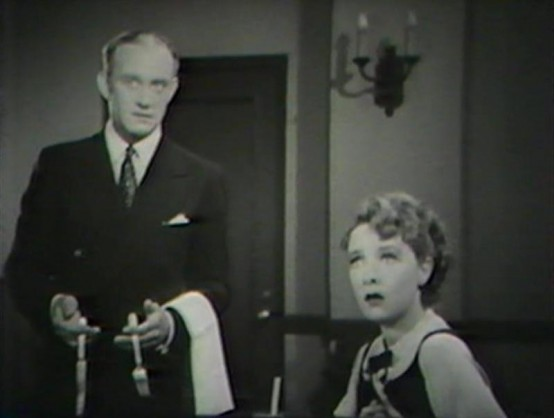 Conrad Nagel and Helen Twelvetrees in One Hour Late