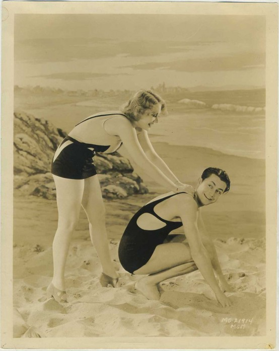 Anita Page and Robert Young 1930s MGM Promotional Photo