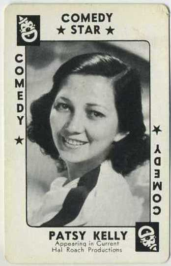 Patsy Kelly 1938 Movie Millions Game Card