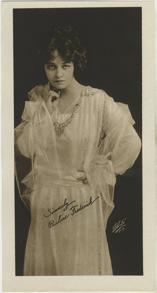 Pauline Frederick Water Color Premium Photo