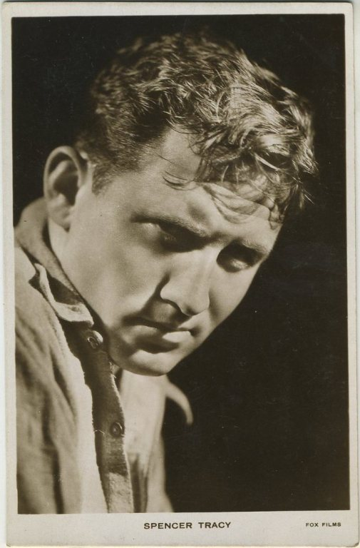 Spencer Tracy 1930s Postcard