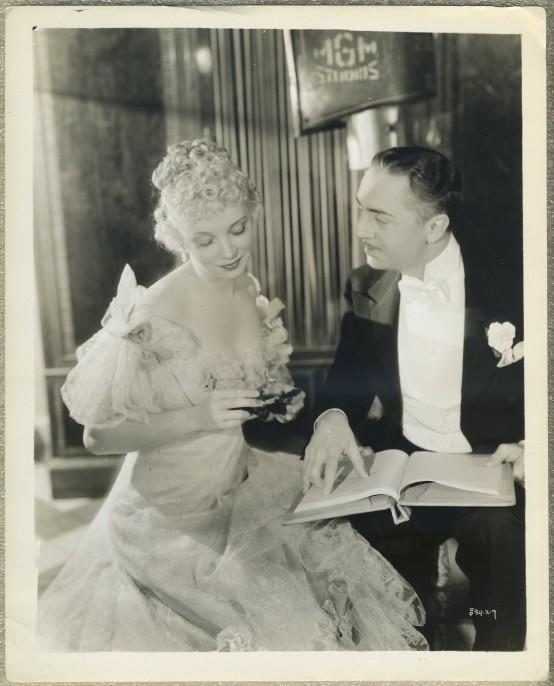 Virginia Bruce and William Powell in Escapade