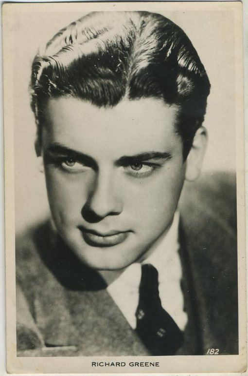 Richard Greene 1930s Picturegoer Postcard