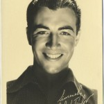 Robert Taylor 1930s Fan Photo