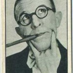 Robert Woolsey 1933 Carreras Personality Series