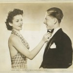 Jacqueline Laurent and Mickey Rooney in Judge Hardy