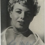 Shelley Winters 1954 Autograph Series Postcard