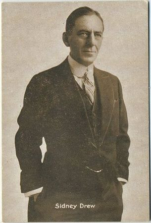 Sidney Drew 1916 Anonymous Trading Card issue
