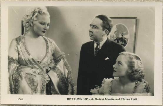 Thelma Todd and Herbert Mundin in Bottoms Up