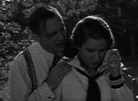 Lee Tracy and Mae Clarke in Turn Back the Clock