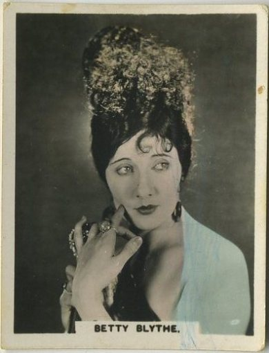 Betty Blythe 1927 African Tobacco Corp