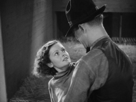 Ann Hovey and Ward Bond
