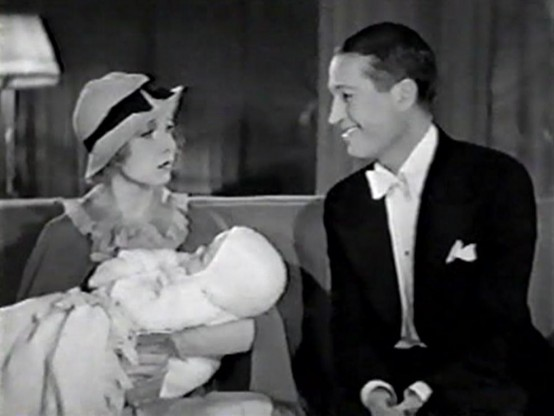 Helen Twelvetrees and Maurice Chevalier in A Bedtime Story