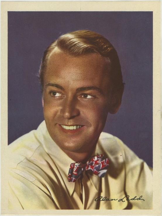 Alan Ladd 1946 Motion Picture Premium