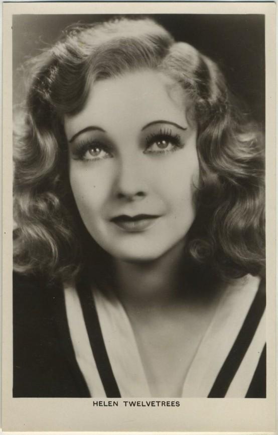 Helen Twelvetrees 1930s Picturegoer Postcard