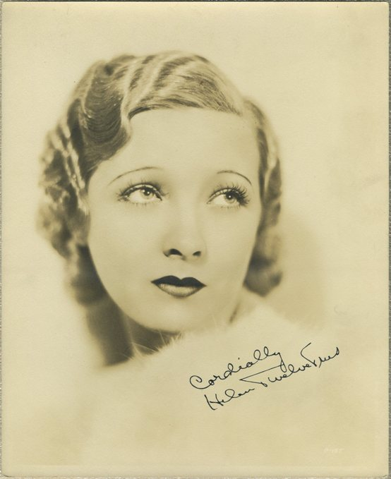 Helen Twelvetrees 1920s Fan Photo