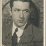 Johnny Mack Brown 1920s Fan Photo
