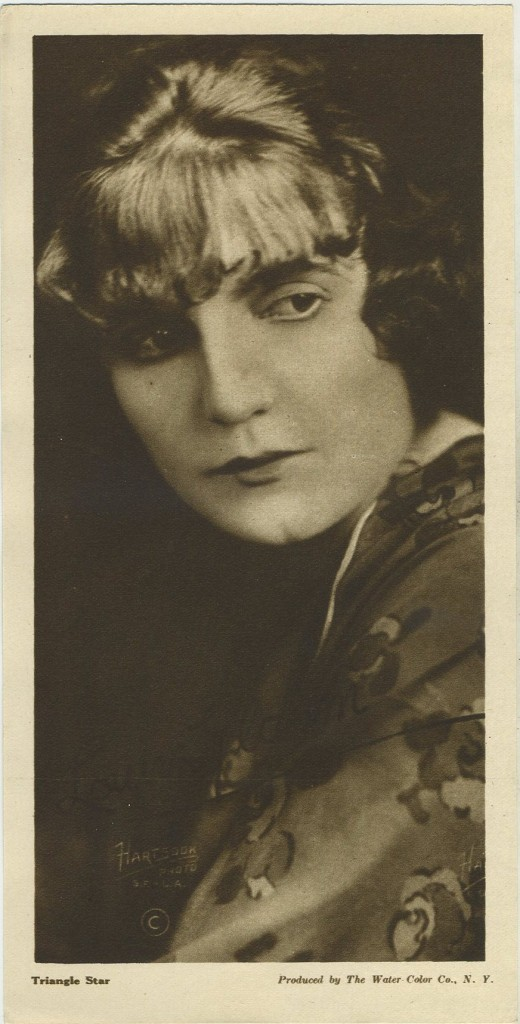 Louise Glaum 1916 Water Color Premium Photo