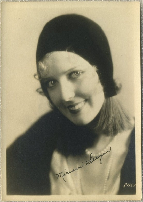 Miriam Seegar 1920s Fan Photo