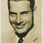 Richard Arlen Film Weekly Postcard