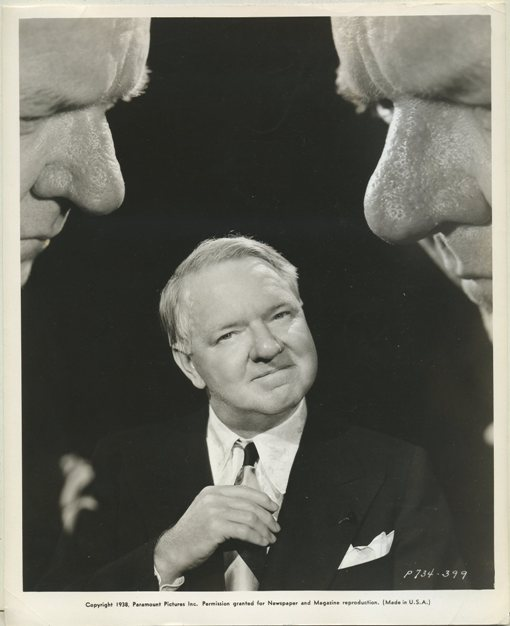 WC Fields 1938 Promotional Photo