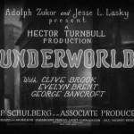 Josef von Sternberg's Underworld (1927) Starring George Bancroft