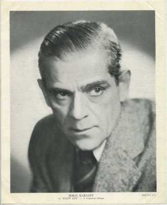 Boris Karloff 1930s EMO Movie Club