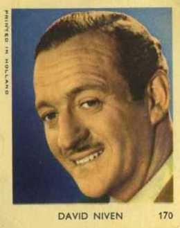 David Niven 1954 VAL Gum