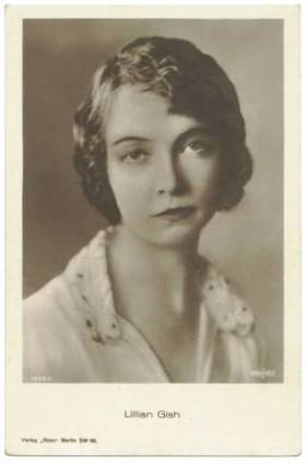 Lillian Gish Ross Verlag Postcard
