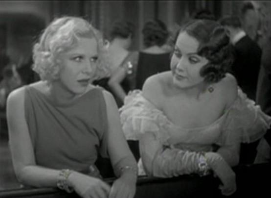 Glenda Farrell and Mary Brian