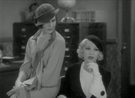 Mary Brian and Glenda Farrell