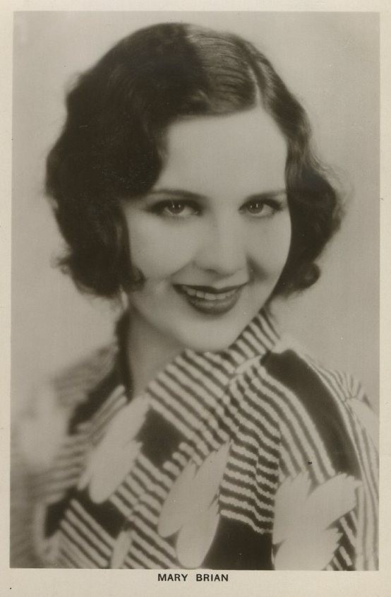 Mary Brian 1930s Picturegoer Real Photo Postcard