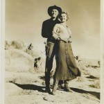 Kirk Douglas and Virginia Mayo in Along the Great Divide