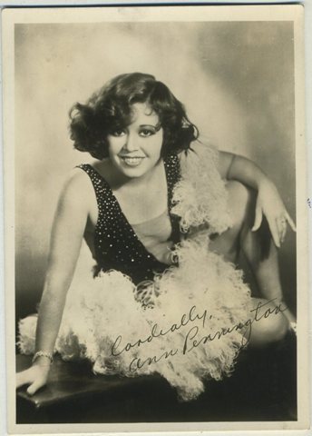 Ann Pennington 1920s Fan Photo