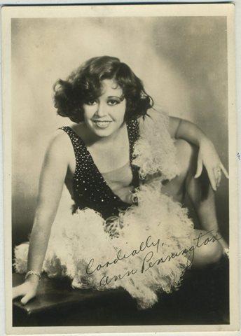 Ann Pennington 1920s Fan Photo