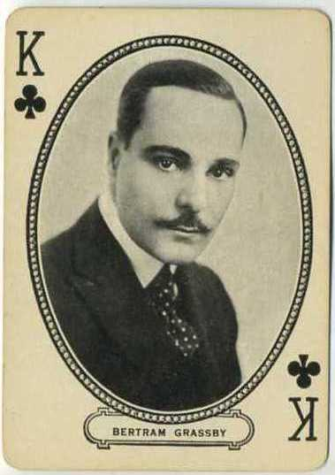 Bertram Grassby 1916 MJ Moriarty Playing Card