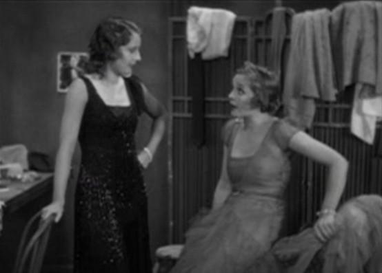 Barbara Stanwyck and Sally Blane