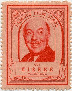 Guy Kibbee 1930s Liptons Stamp