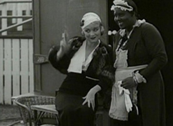 Constance Bennett and Louise Beavers