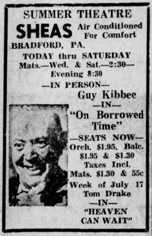 Above: Kane Republican (PA), July 11, 1950.