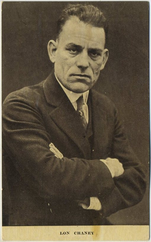 Lon Chaney circa 1913 Kraus Mfg Postcard
