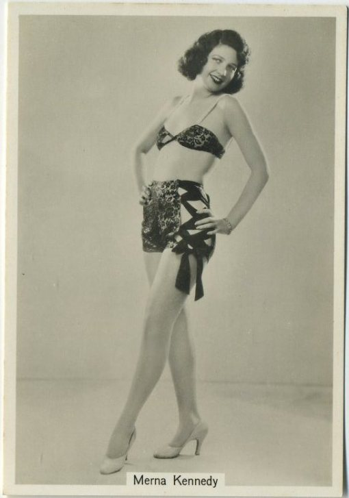Merna Kennedy 1930s Godfrey Phillips Beauties of Today